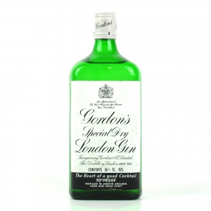 Gordon's London Special Dry Gin 1970s