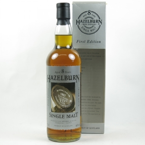 Hazelburn 8 Year Old First Edition front
