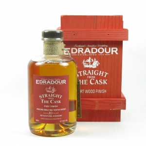 Edradour 1993 Signatory Vintage Port Finish 10 Year Old Front