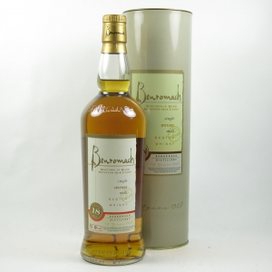 Benromach 18 Year Old front