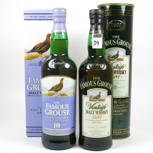 Famous Grouse 10 Year Old / Famous Grouse 1987