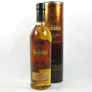 Glenfiddich 12 Year Old Toasted Oak Reserve Front