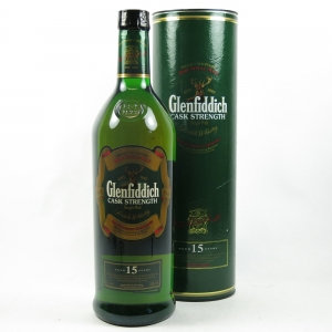 Glenfiddich 15 Year Old Cask Strength 1 Litre Front
