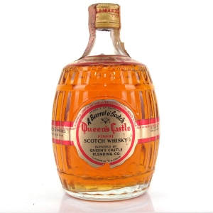 Queen's Castle Finest Scotch Whisky 1960s / Italian Import