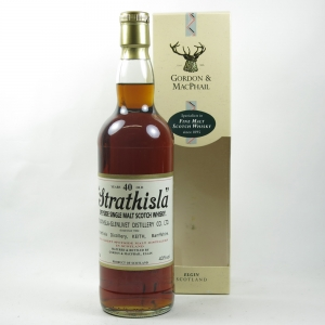 Strathisla 40 year Old Gordon and Macphail Front