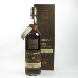 Glendronach 1990 Single cask 24 year old Front