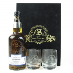 Bruichladdich 1968 Signatory Vintage 30 Year Old / Includes 2 Glasses
