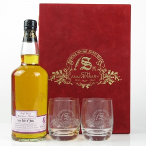 Jura 1966 Signatory Vintage 32 Year Old / Includes 2 Glasses