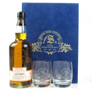 Longmorn 1969 Signatory Vintage 28 Year Old 10th Anniversary Gift Pack