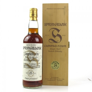 Springbank 35 Year Old Millennium Limited Edition