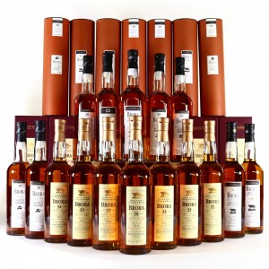 Brora Special Releases 2002-2017 16 x 70cl