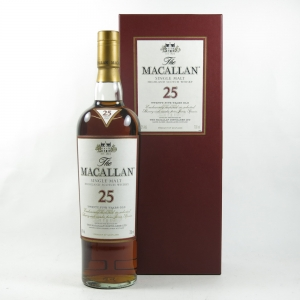 Macallan 25 Year Old Front
