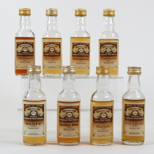 Gordon and Macphail Closed Distilleries Miniature Selection 8 x 5cl