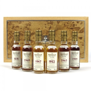 Macallan Fine and Rare Linley Collection 6 x 5cl