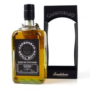Burnside 1989 Cadenhead's 27 Year Old