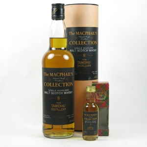 Tamdhu 8 Year Old Gordon and Macphail Including Miniature Front