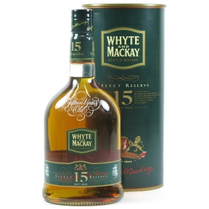 Whyte and Mackay 15 Year Old Select Reserve front