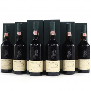 Lagavulin 1985 Cask Strength 21 Year Old 6 x 70cl / Case