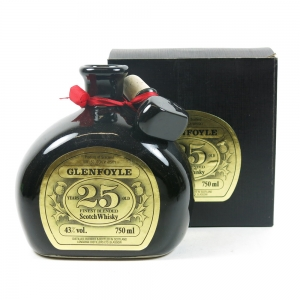 Glenfoyle 25 Year Old Decanter Front