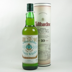 Tullibardine 10 Year Old Dumfries and Galloway Constabulary 10th Anniversary Front
