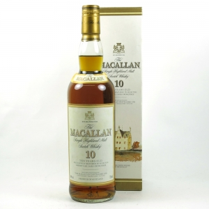 Macallan 10 Year Old 1990s Front