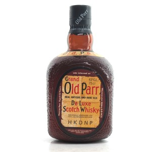 Grand Old Parr Deluxe 1980s