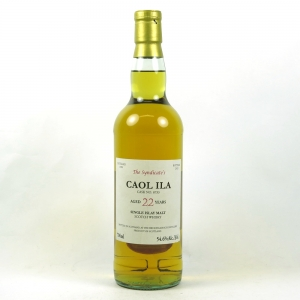 Caol Ila 1990 The Syndicate's 20 Year Old Front