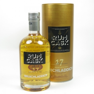 Bruichladdich 17 Year Old Rum Cask Front