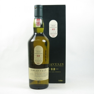 Lagavulin 12 Year Old 2009 Release Front