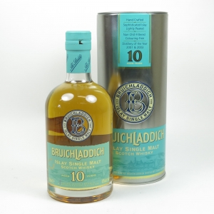 Bruichladdich 10 Year Old (Signed)
