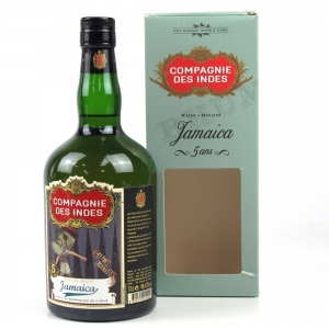 Jamaica Compagnie Des Indes 5 Year Old Rum