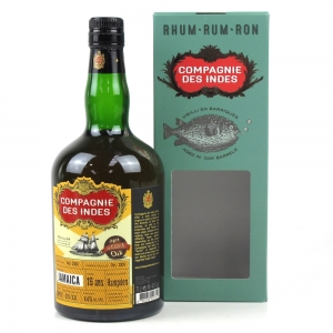 Hampden Jamaica Compagnie Des Indes 16 Year Old Rum