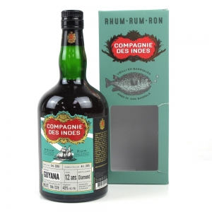 Diamond 2003 Compagnie Des Indes 12 year old Guyana Rum