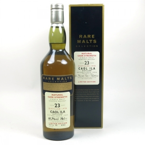 Caol Ila 1978 23 Year Old Rare Malt Front