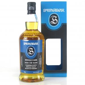 Springbank 2003 Single Cask 14 Year Old / Guadeloupe Rum