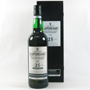 Laphroaig 25 Year Old 2008 Release Front
