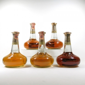 Caledonian Selection Decanters 5 x 70cl