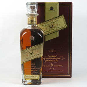 Johnnie Walker 21 Year Old (Red and Gold Box) front