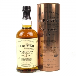 Balvenie 12 Year Old Double Wood / Copper Tin