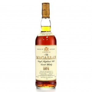Macallan 1974 18 Year Old 75cl / La Suisse Rodica Import