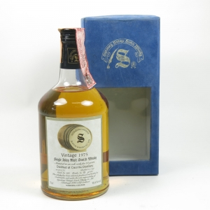 Caol Ila 1975 Signatory Vintage 22 Year Old Front