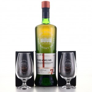 Glenallachie 2010 SMWS 7 Year Old 107.16 / with 2 x Tasting Glasses