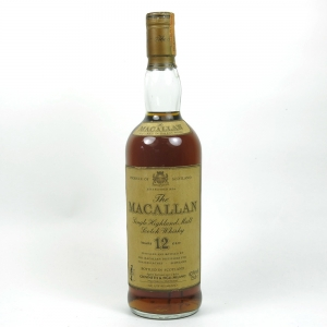 Macallan 12 Year Old 1980s