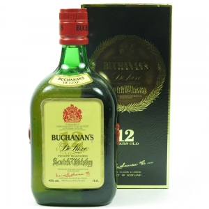 Buchanan's 12 Year Old 75cl front