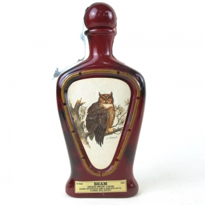 Beam's Kentucky Whiskey Decanter / Horned Owl