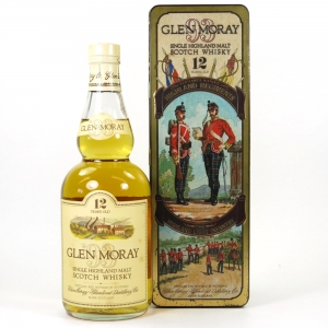 Glen Moray 12 Year Old The Highland Light Infantry Tin