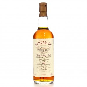 Bowmore 1970 21 Year Old / Auxil Import