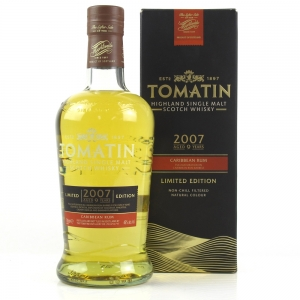 Tomatin 2007 Caribbean Rum 9 Year Old