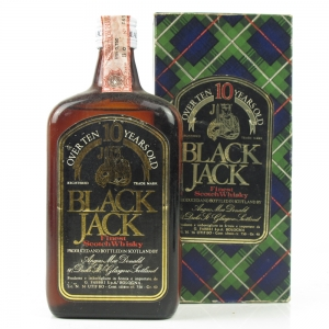 Black Jack 10 Year Old Finest Scotch Whisky 75cl 1970s