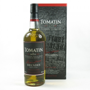 Tomatin Decades front